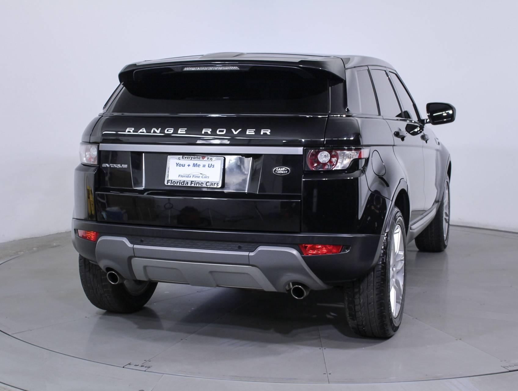 Used 2013 LAND ROVER RANGE ROVER EVOQUE PURE PLUS SUV for sale in