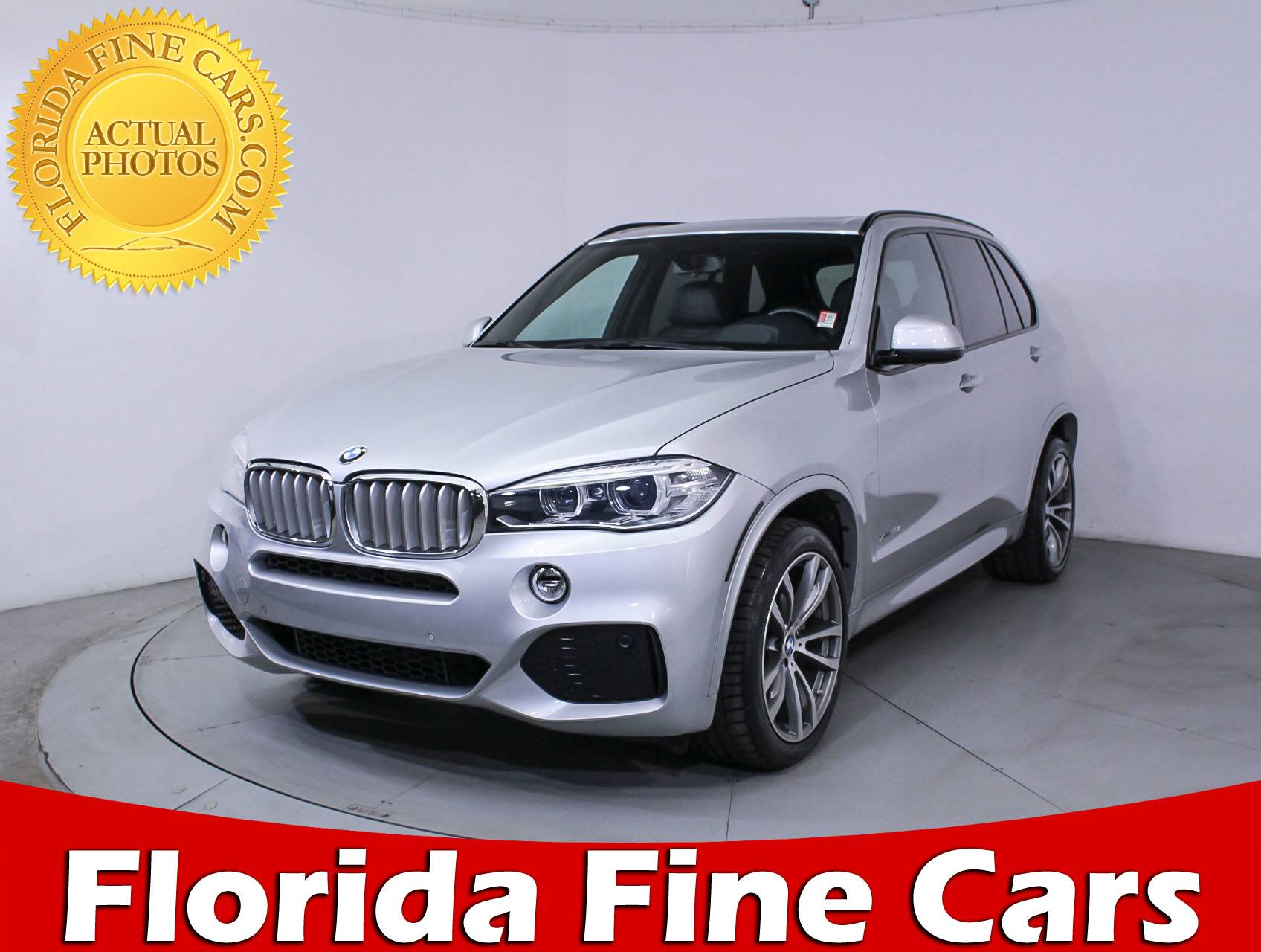 Used 2014 BMW X5 XDRIVE50I M SPORT SUV For Sale In MIAMI FL