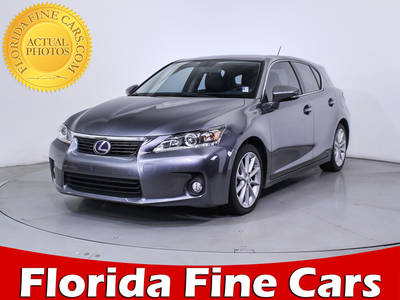 Used LEXUS CT-200H 2013 HOLLYWOOD