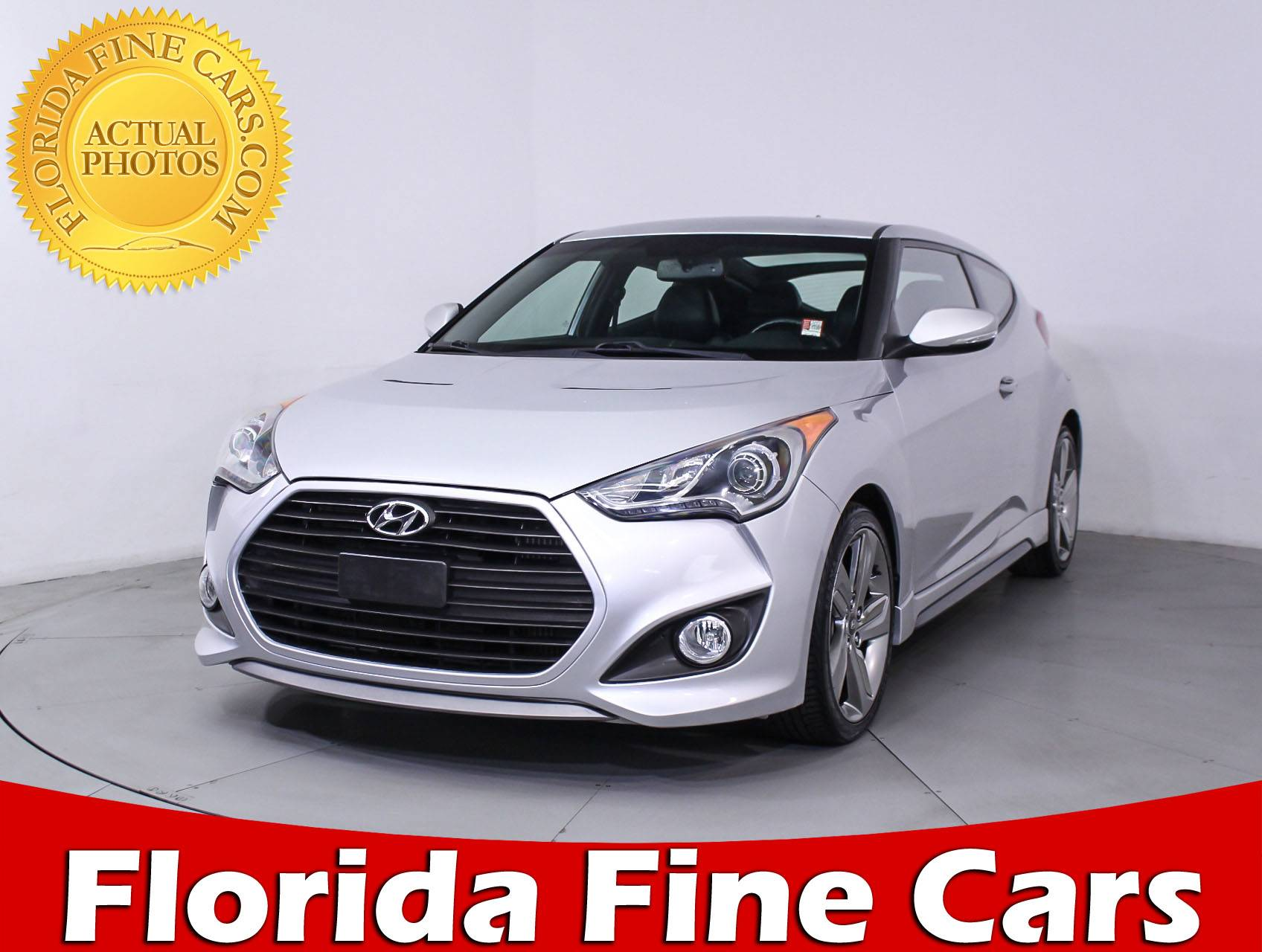 Used 2013 HYUNDAI VELOSTER Turbo Hatchback For Sale In MIAMI, FL | 85681 |  Florida Fine Cars