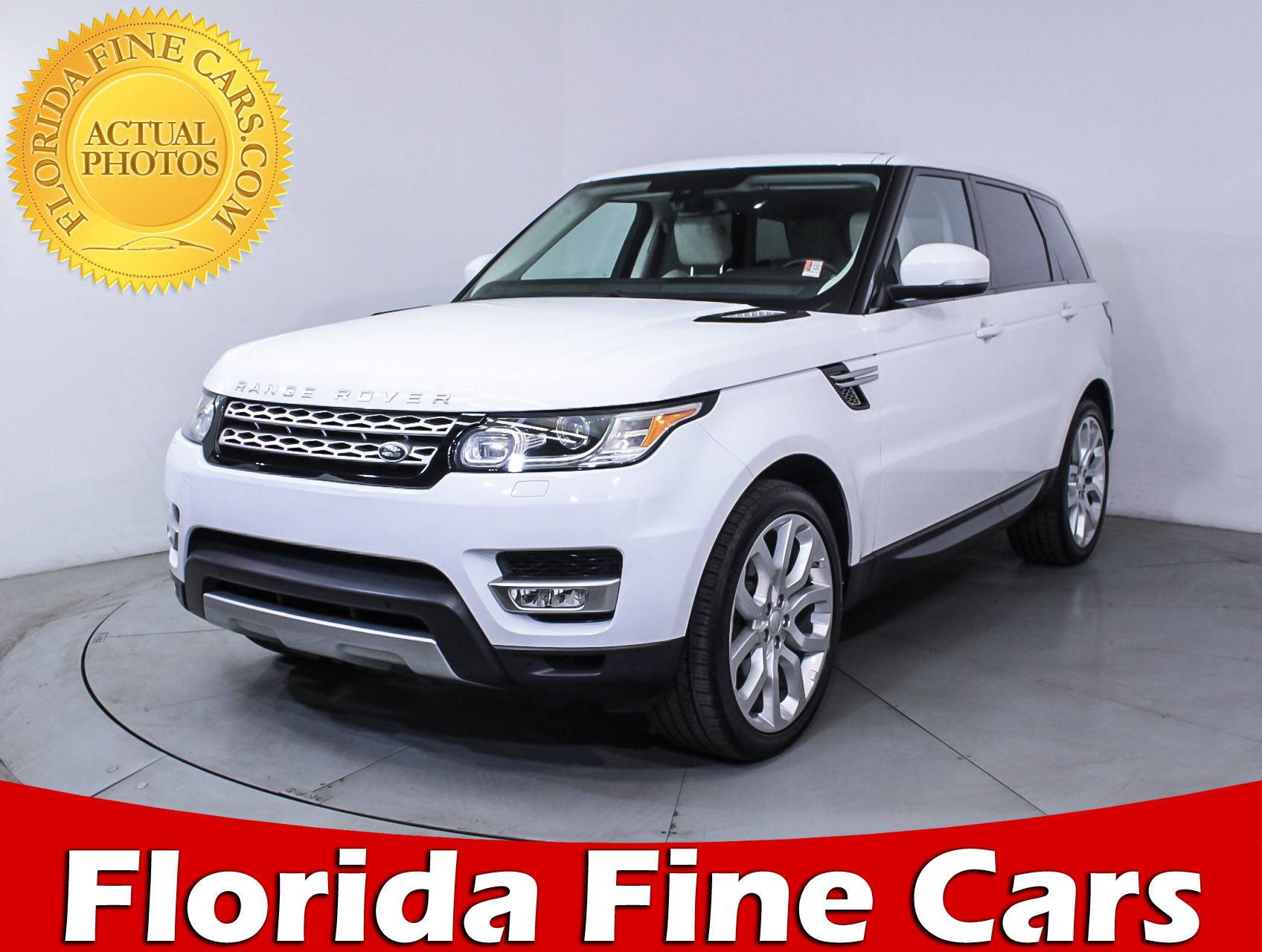 Used 2014 LAND ROVER RANGE ROVER SPORT SUPERCHARGED SUV for sale in