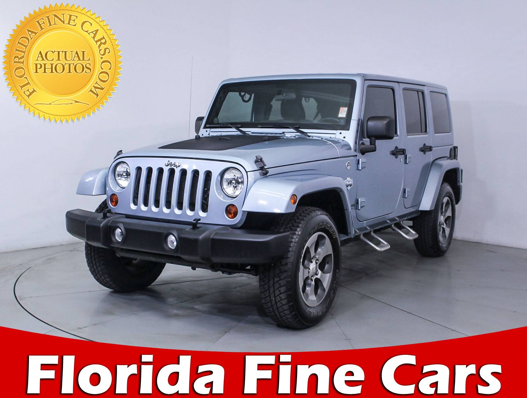 Used 2012 JEEP WRANGLER UNLIMITED Sahara Artic Edition SUV for sale