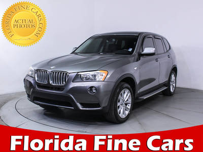 Used BMW X3 2014 WEST PALM XDRIVE28I