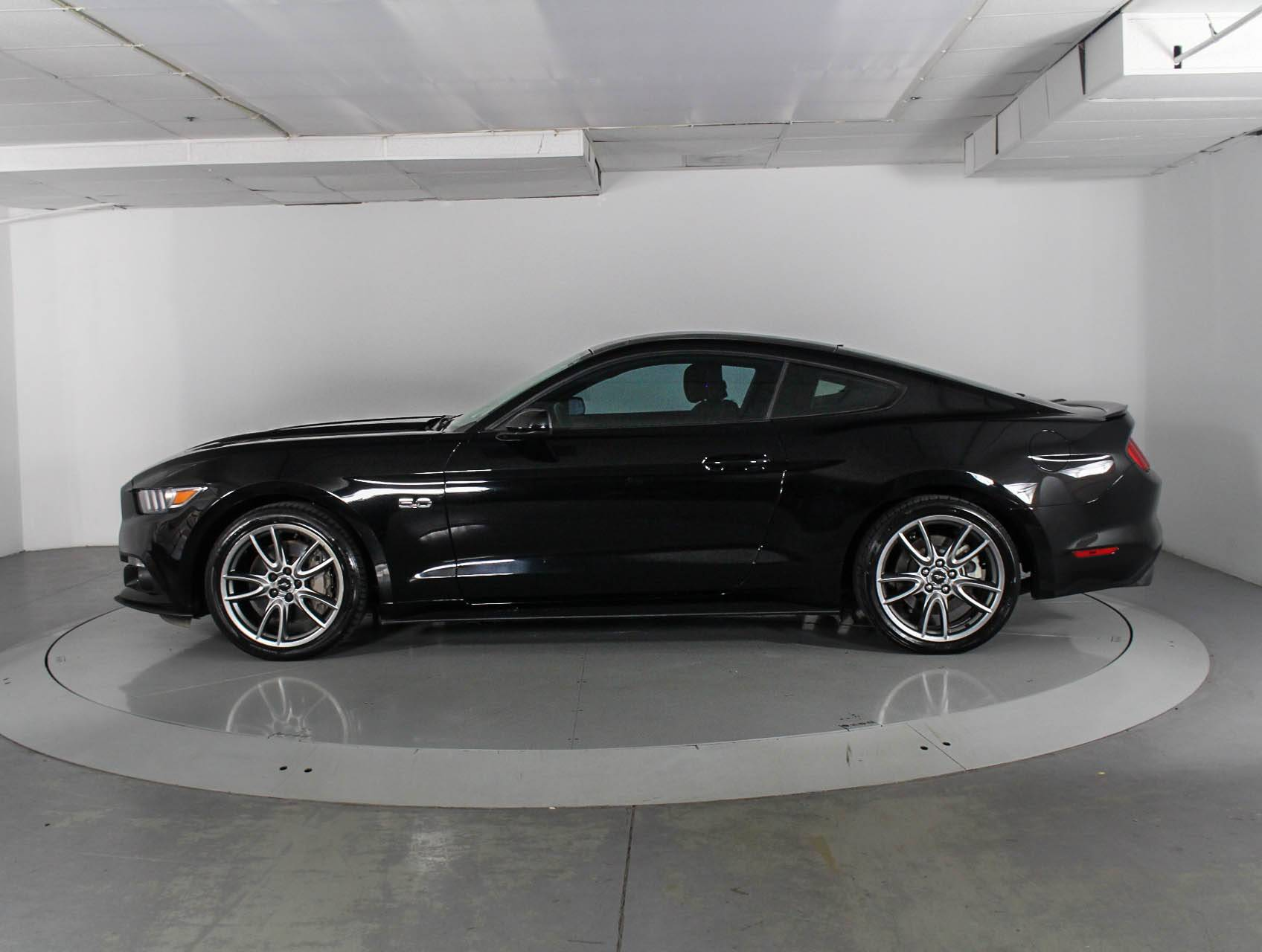 Used 2015 ford mustang gt coupe for sale in west palm fl 86275
