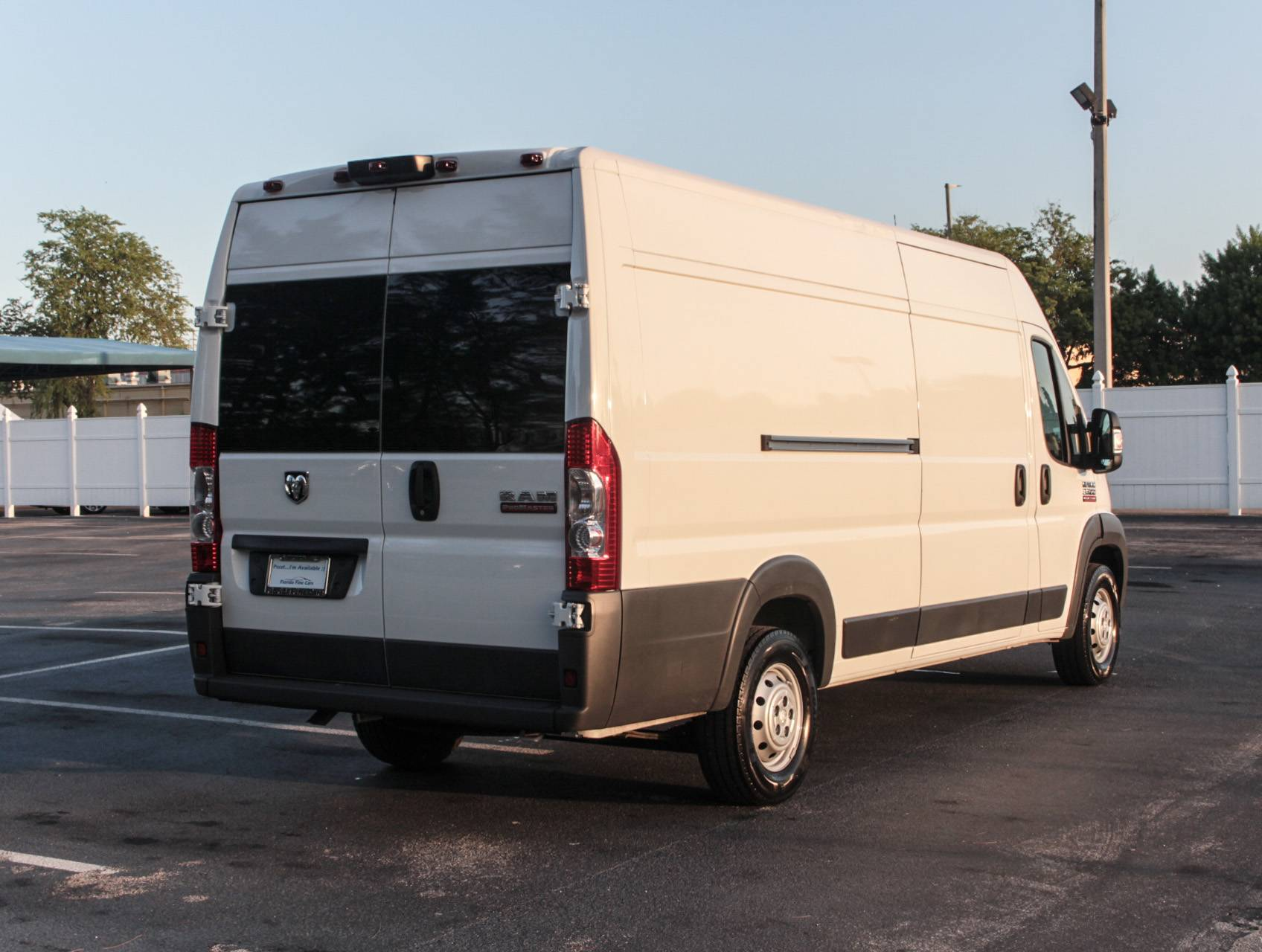 used 2016 ram promaster 3500 extended 159x wb cargo van for sale in miami fl 86376 florida. Black Bedroom Furniture Sets. Home Design Ideas