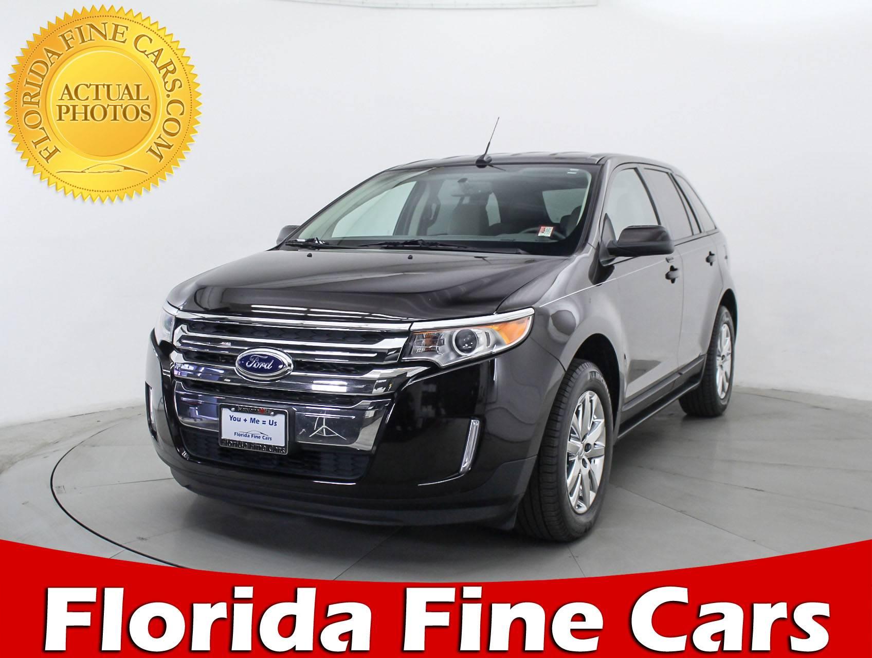 Used  Ford Edge Sel Suv For Sale In Miami Fl  Florida Fine Cars