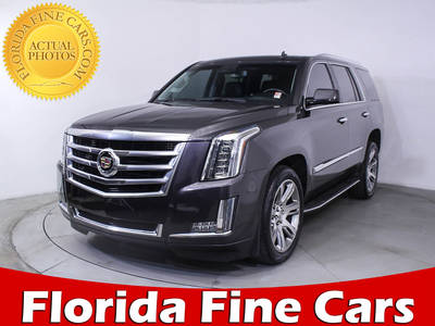 Used CADILLAC ESCALADE 2015 WEST PALM LUXURY
