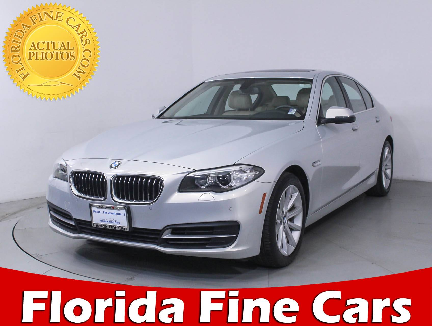 Used 2014 BMW 5 SERIES 535I XDRIVE Sedan for sale in HOLLYWOOD FL