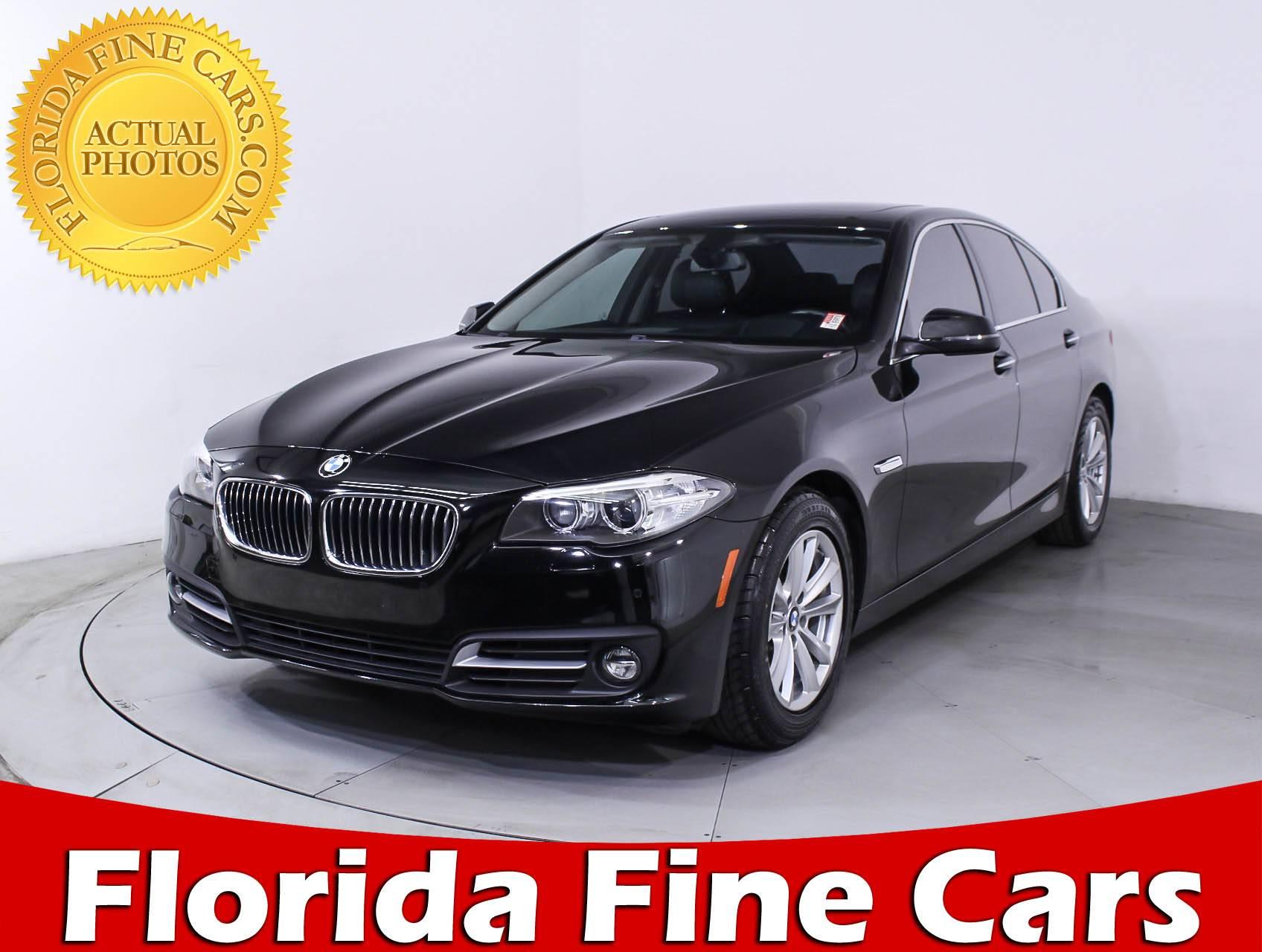 Used 2015 BMW 5 SERIES 528I Sedan for sale in MIAMI FL