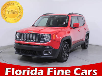 Used JEEP RENEGADE 2017 MIAMI LATITUDE
