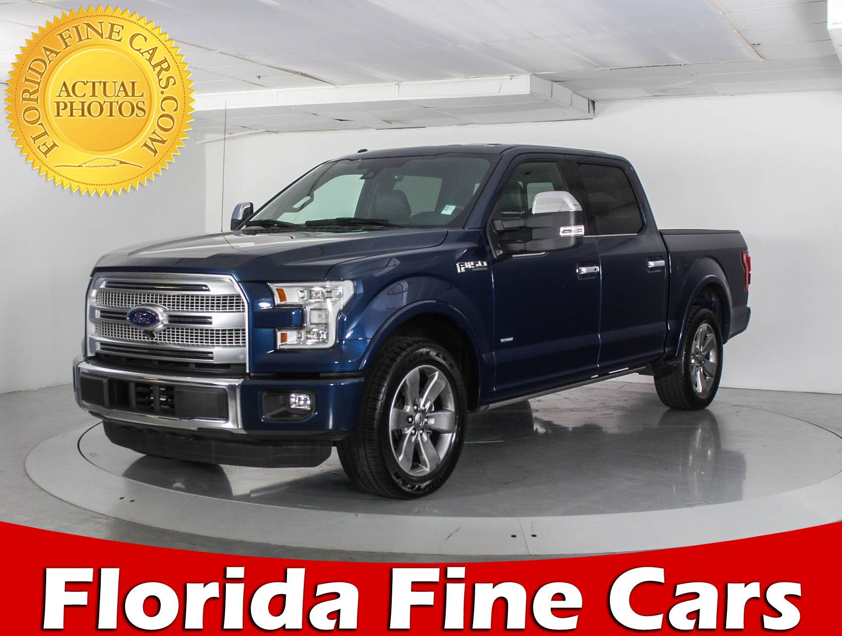 2015 Ford F 150 Platinum For Sale In Florida