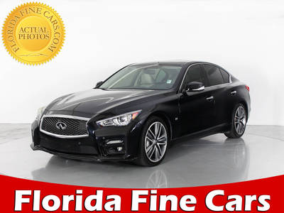 Used INFINITI Q50S 2014 WEST PALM SPORT
