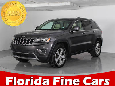 Used JEEP GRAND-CHEROKEE 2014 WEST PALM LIMITED