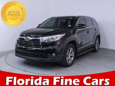 Used TOYOTA HIGHLANDER 2015 MIAMI XLE
