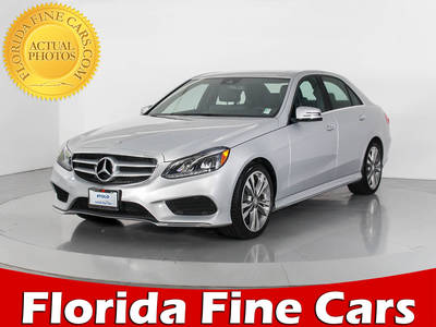Used MERCEDES-BENZ E-CLASS 2015 WEST PALM E350 4MATIC