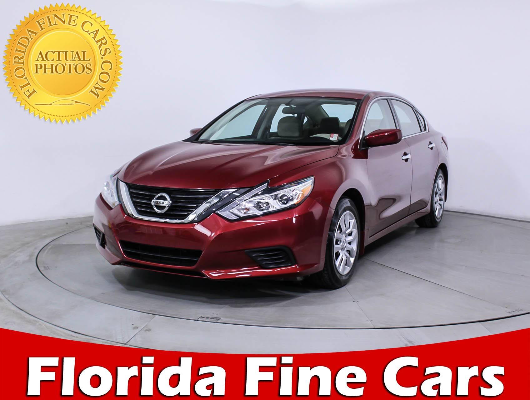 Used 2016 NISSAN ALTIMA S Sedan for sale in MIAMI, FL | 87180 | Florida  Fine Cars