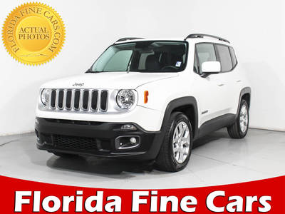 Used JEEP RENEGADE 2017 MARGATE LATITUDE