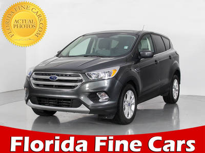 Used FORD ESCAPE 2017 WEST PALM Ecoboost Se