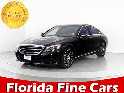 Used MERCEDES-BENZ S-CLASS 2014 WEST PALM S550 4MATIC
