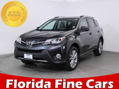 Used TOYOTA RAV4 2014 HOLLYWOOD Limited Awd