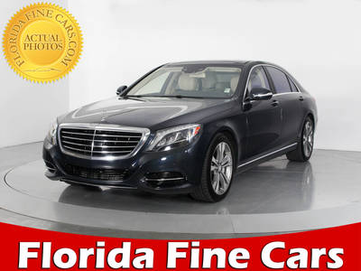 Used MERCEDES-BENZ S-CLASS 2014 WEST PALM S550