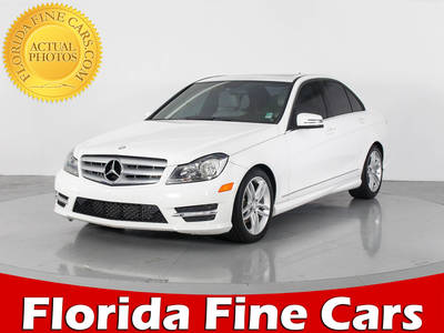 Used MERCEDES-BENZ C-CLASS 2013 WEST PALM C250