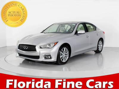 Used INFINITI Q50 2017 WEST PALM PREMIUM