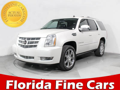 Used CADILLAC ESCALADE 2007 HOLLYWOOD