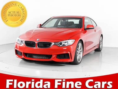 Used BMW 4-SERIES 2014 WEST PALM 435I M SPORT