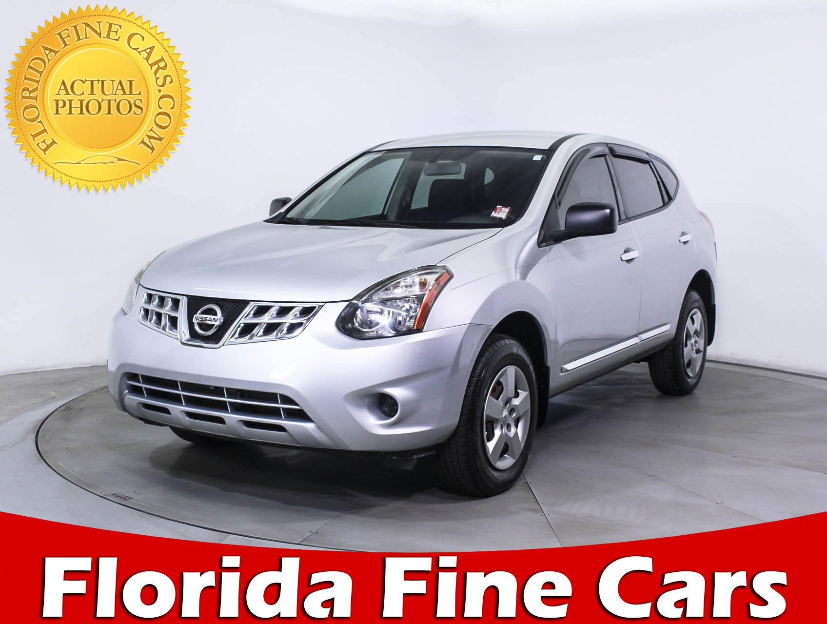 Used 2014 NISSAN ROGUE SELECT S SUV for sale in MARGATE FL