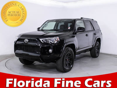 Used TOYOTA 4RUNNER 2016 MIAMI Sr5 4x4