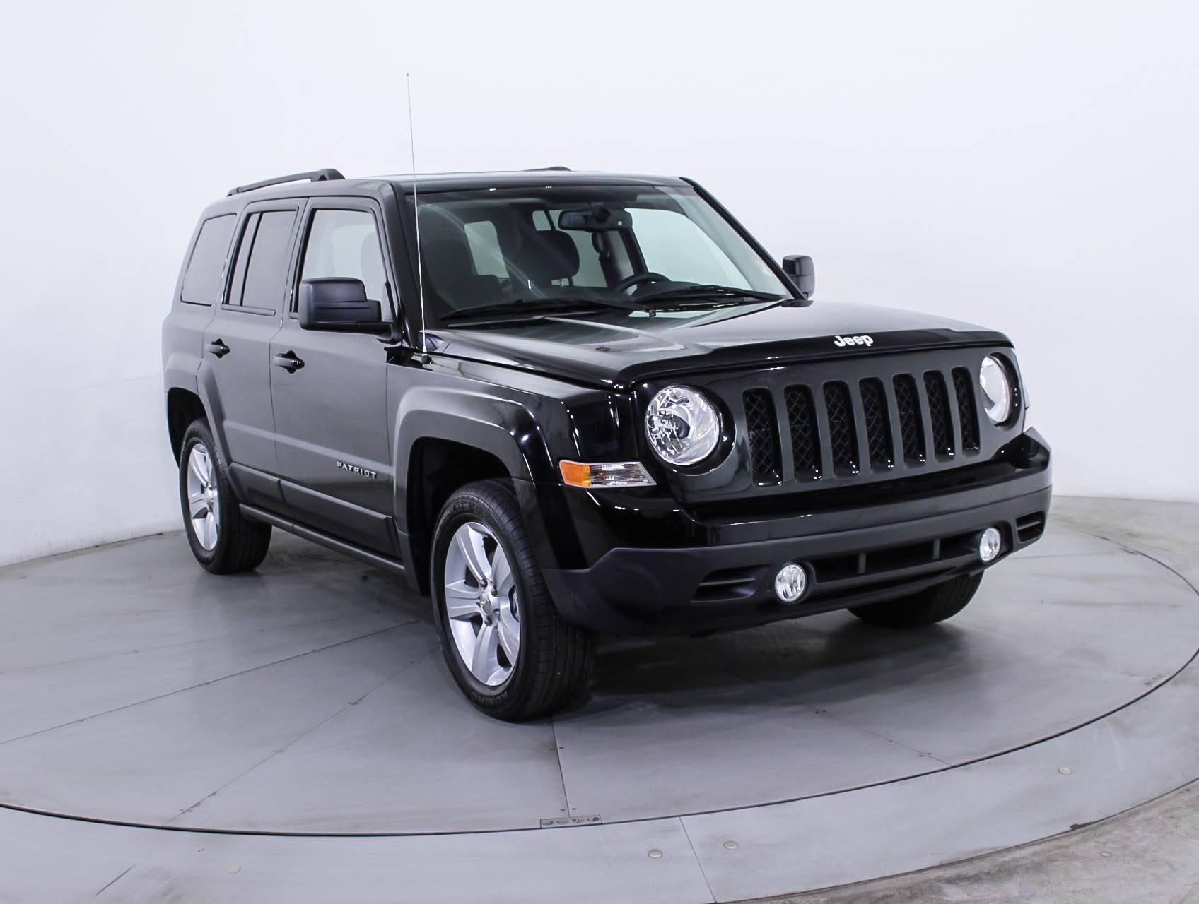 used 2017 jeep patriot latitude 4x4 suv for sale in miami fl 87958 florida fine cars. Black Bedroom Furniture Sets. Home Design Ideas