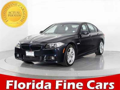 Used BMW 5-SERIES 2015 WEST PALM 535I XDRIVE M SPORT