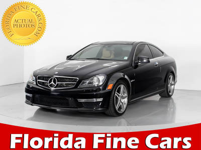 Used MERCEDES-BENZ C-CLASS 2014 WEST PALM C63 AMG