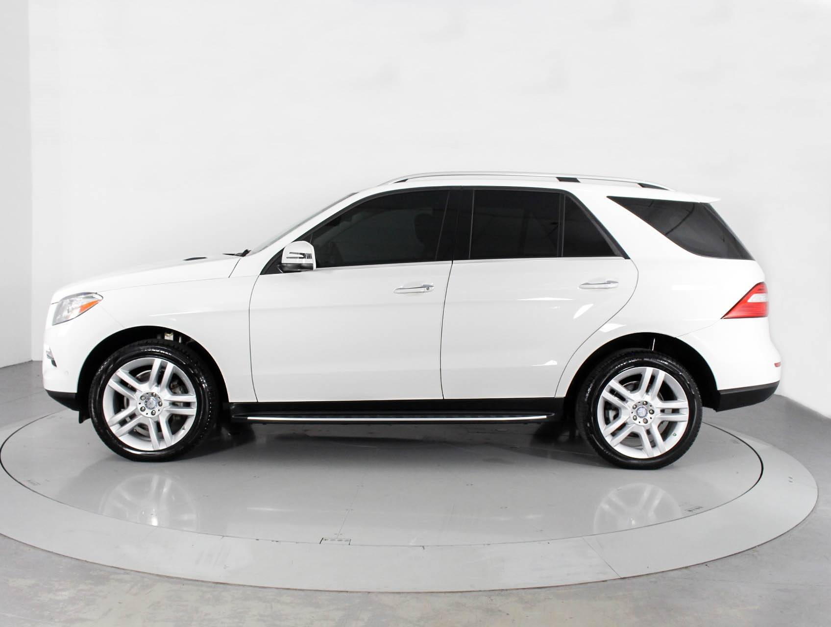 Used 2015 MERCEDES BENZ M CLASS ML350 SUV for sale in HOLLYWOOD FL