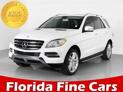 Used MERCEDES-BENZ M-CLASS 2015 HOLLYWOOD ML350
