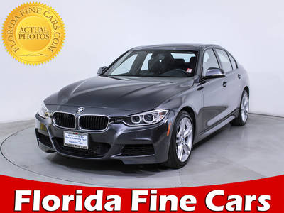 Used BMW 3-SERIES 2014 WEST PALM 335i Xdrive M Sport