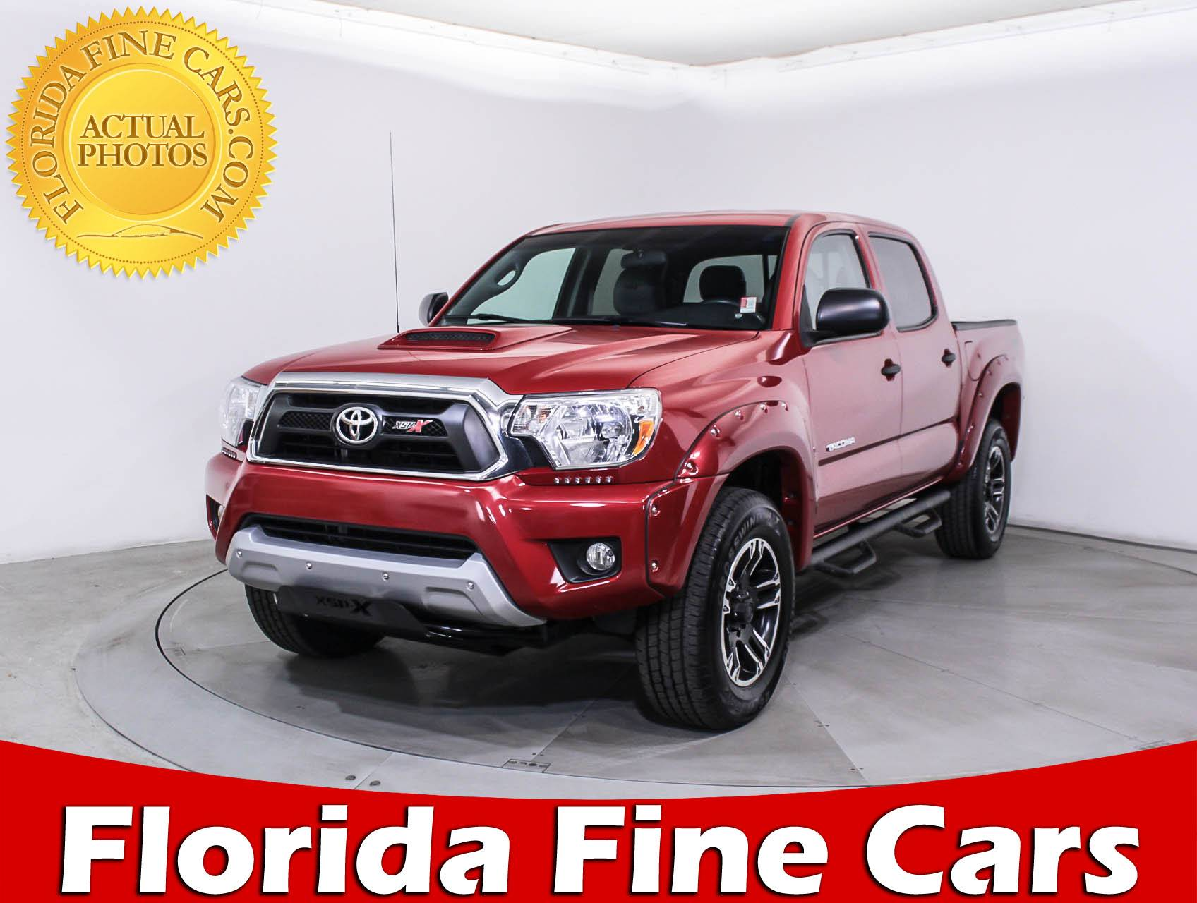 Used 2015 TOYOTA TA A Xsp X Truck for sale in MIAMI FL