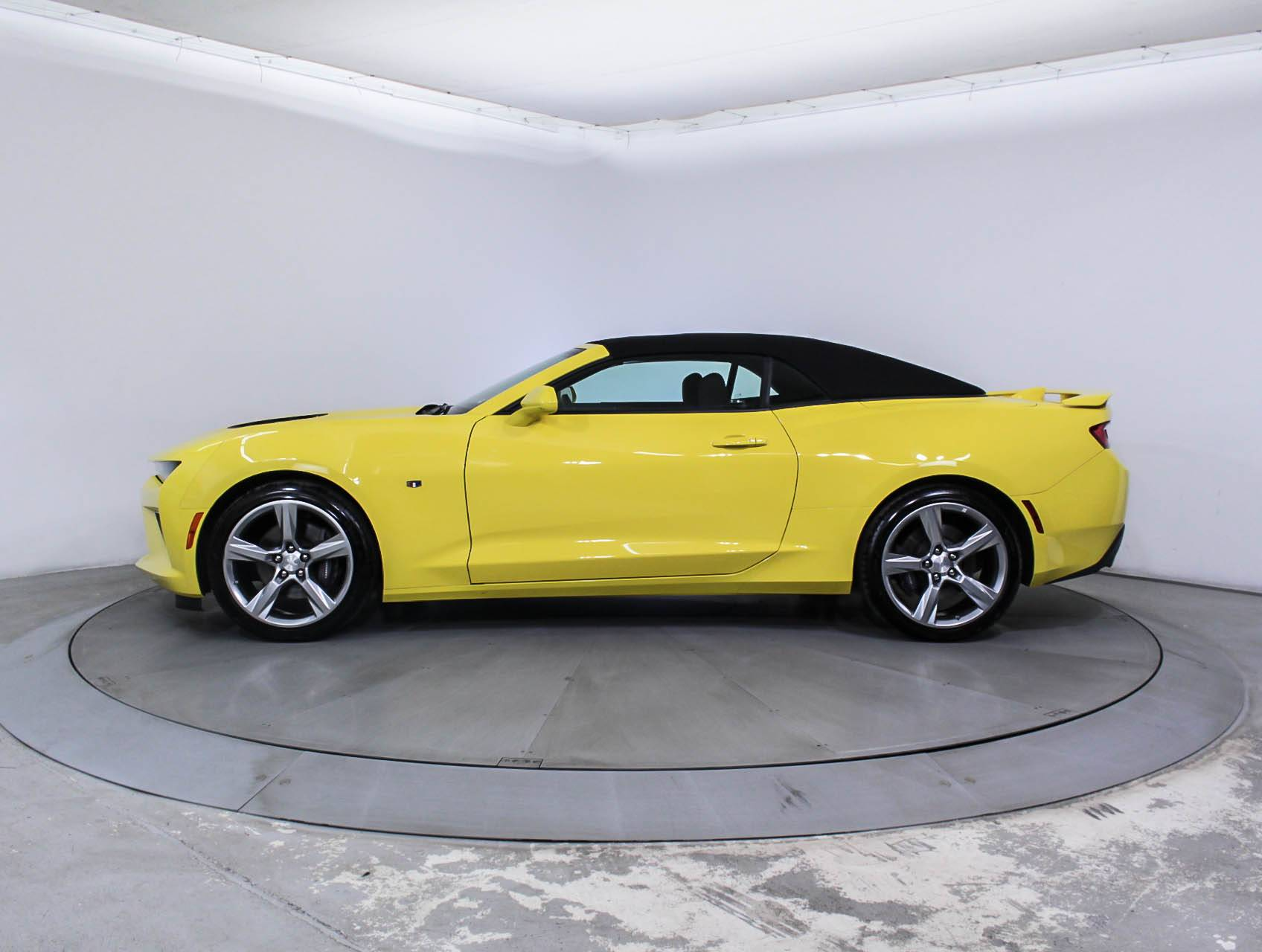 used 2017 chevrolet camaro 1ss convertible for sale in miami fl 88152 florida fine cars. Black Bedroom Furniture Sets. Home Design Ideas