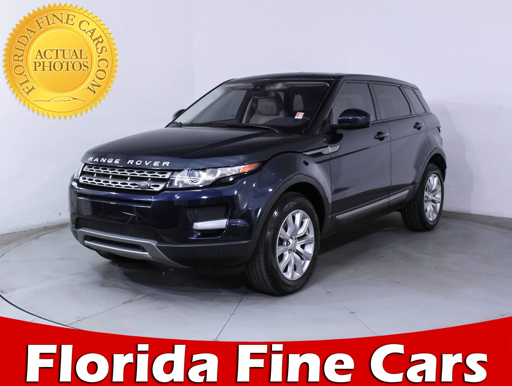Used 2015 LAND ROVER RANGE ROVER EVOQUE PURE SUV for sale in