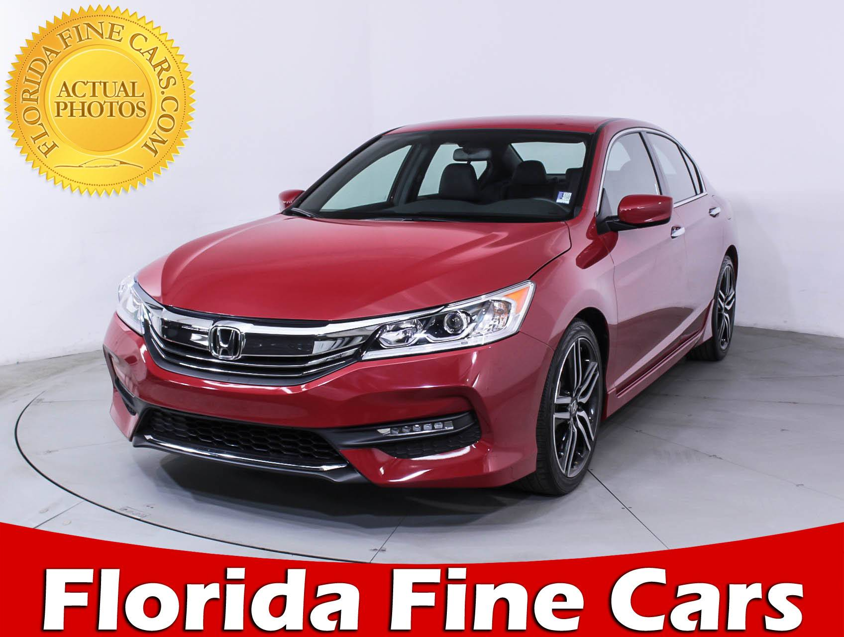 Used 2017 HONDA ACCORD SPORT Sedan For Sale In HOLLYWOOD, FL | 88366 |  Florida Fine Cars