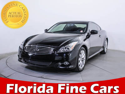 Used INFINITI Q60 2014 MIAMI Journey