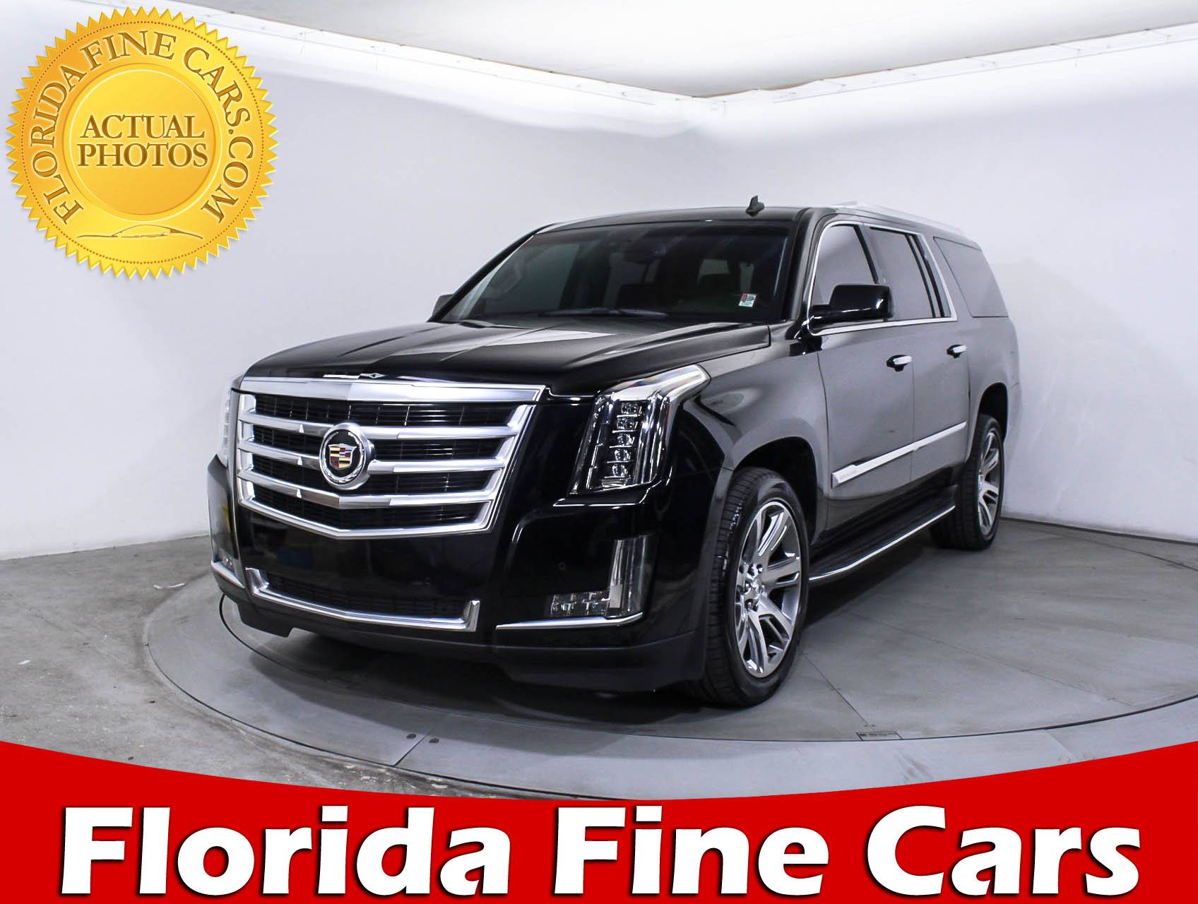 Used 2015 Cadillac Escalade Esv Luxury Suv For Sale In West Palm Fl Gmc 88470 Florida Fine Cars