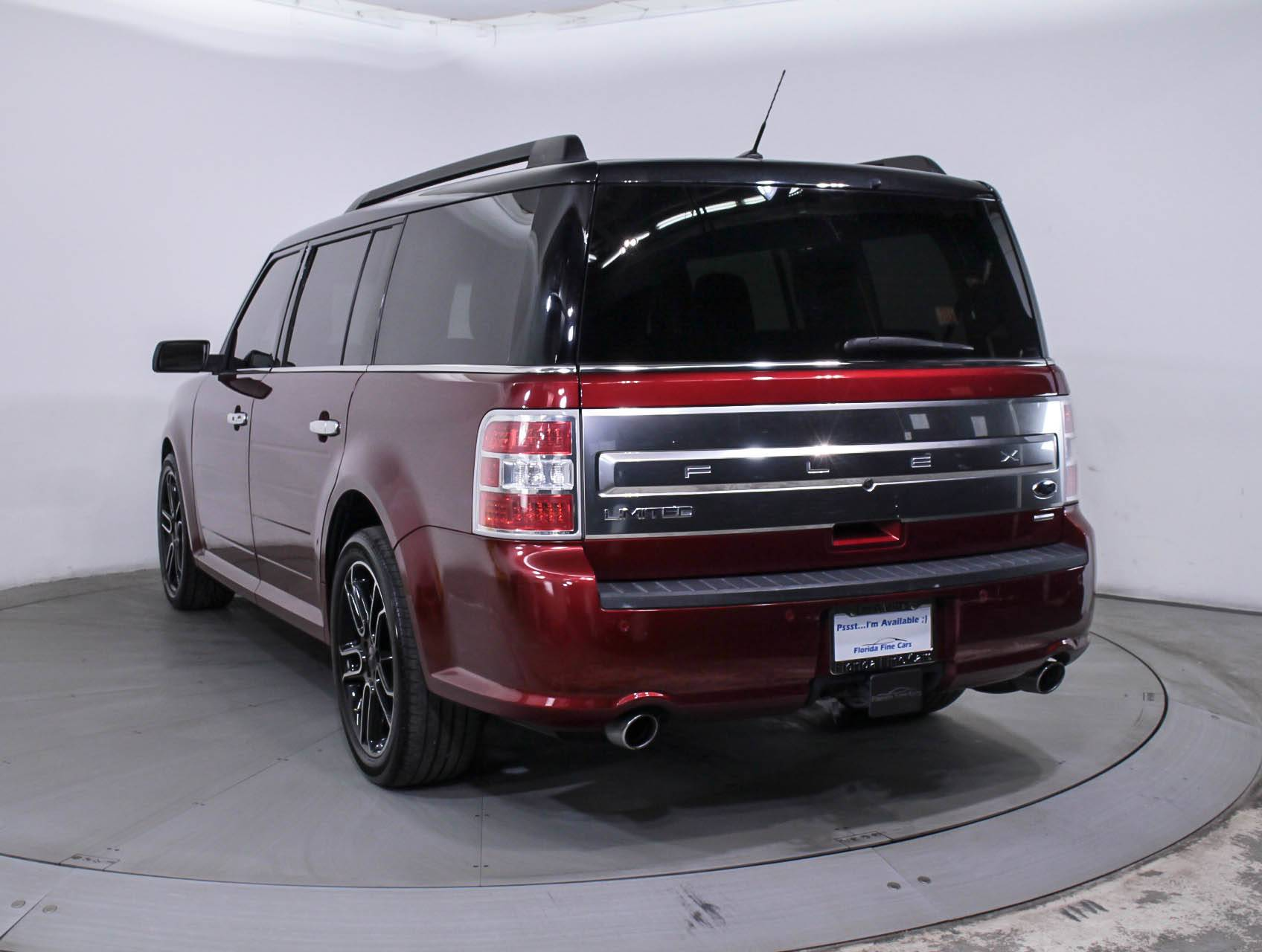 used 2014 ford flex limited awd suv for sale in hollywood fl 88495 florida fine cars. Black Bedroom Furniture Sets. Home Design Ideas