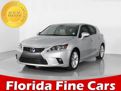 Used LEXUS CT-200H 2014 WEST PALM
