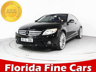 Used MERCEDES-BENZ CL-CLASS 2008 MIAMI CL550