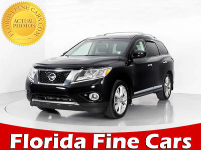 Used NISSAN PATHFINDER 2015 WEST PALM PLATINUM