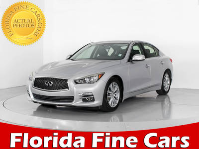 Used INFINITI Q50 2014 WEST PALM Premium Tech Pkg