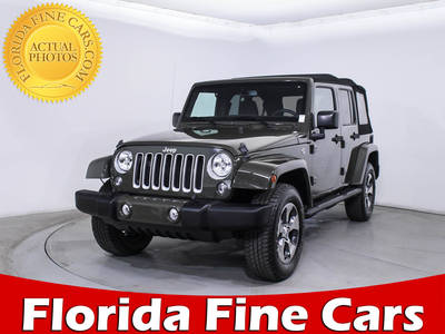 Used JEEP WRANGLER-UNLIMITED 2016 WEST PALM SAHARA