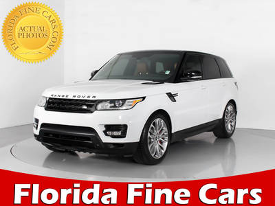 Used LAND-ROVER RANGE-ROVER-SPORT 2014 WEST PALM SUPERCHARGED